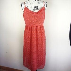 Rachel Roy chiffon spaghetti strap dress, EUC
